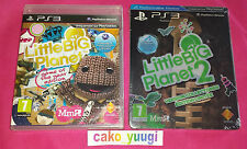 LITTLE BIG PLANET GOTY + LITTLEBIGPLANET 2 STEELBOOK EDITION SONY PS3 FRANCAIS