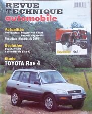 Revue technique 4X4 TOYOTA RAV4 RAV 4 2.0 ESSENCE RTA N°597 1997