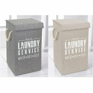 Laundry Basket Washing Clothes Bin Foldable Collapsible Hamper Cube