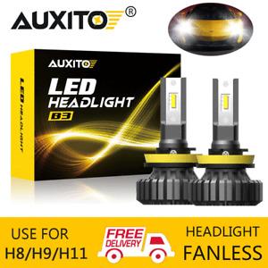 AUXITO H8 H9 H11 20000LM LED Car Headlight Bulb 6500K Upgrade Conversion Kit