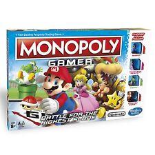 Hasbro Gamer Monopoly Trading Board Game. Family Video Gift Mario Gaming Zelda