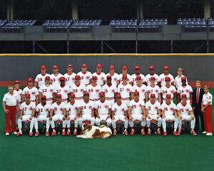 CINCINNATI REDS 1990 - World Series Champions, 8x10 Color Team Photo