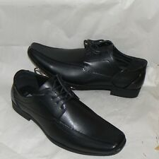 MENS GREENWOODS BLACK LACE UP FORMAL SHOES SIZE UK 8 (42)