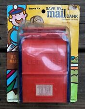 Vintage Plastic Toy Mail Box by Superior