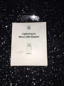 Genuine Apple Lightning to Micro USB Adaptor MD820 for iPhone iPad iPod