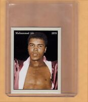 MUHAMMAD ALI '79 HEAVYWEIGHT BOXING CHAMPION RARE NYC CAB CARD