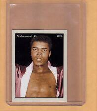Muhammad Ali '79 Heavyweight Boxing Champion rare limited edition NYC cab card