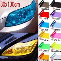 30x100cm Multicolor Car Headlight Fog Taillight Wrap Tint Vinyl Film Stickers
