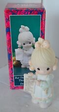 Precious Moments Porcelain Figure 1992 But The Greatest Of These Is Love