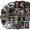 50 Biker Motorrad Stickerbomb Retrostickern Aufkleber Sticker Mix Decals Veteran