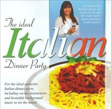 THE IDEAL ITALIAN DINNER PARTY CD BRAND NEW Global Journey Music & Recipes