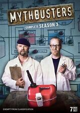 Mythbusters : Season 3 (DVD, 2014, 7-Disc Set)