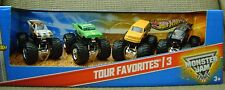 HOT WHEELS MONSTER JAM TOUR FAVORITES 3 AVENGER MAX DESTRUCTION DRAGON BREATH