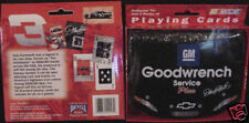NASCAR*Dale Earnhardt Sr #3*Goodwrench*STorageTin + Playing Card Set*Collectible