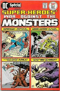 DC Special #21, DC 1976 War Against the Monsters Swan, Kane,Heath NM