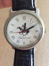Vintage Men's Austin Polo Club Wristwatch Watch Parts Stainless Steel
