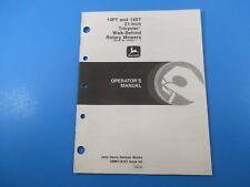John Deere Operators Manual Om-M118181 14Pt / 14St 21 Inch Tricycler Mower M5234