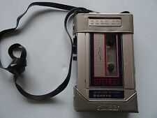 VINTAGE SANYO M-G31 AM/FM STEREO RADIO CASSETTE PLAYER **TESTED/WORKS**