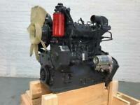 Komatsu S4D95SW Diesel Engine. All Complete and Run Tested.