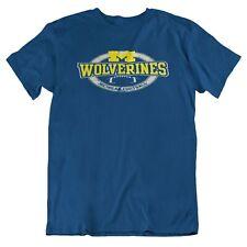 """NEW"" Michigan Wolverines SMALL Unisex Premium Short Sleeve T-Shirt Auction"