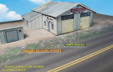 Z Scale Building - Cover Stock(paper) Pre-Cut Industrial Shed - SP5-Z