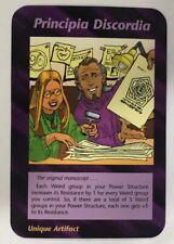 ILLUMINATI NEW WORLD ORDER CARD GAME TCG -PRINCIPIA DISCORDIA NEAR MINT TO MINT