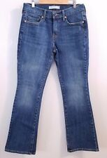 Levi's 515 Boot Cut Lightly Distressed Jeans Size 4 Short with Studded Pockets