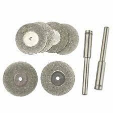 Diamond Cutting Disc Rotary Tool 6pc Mini & Drills Hobby Crafts TE723