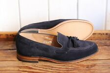 Loake Lincoln 7F in Navy Suede - Seconds - RRP £185 (L876)