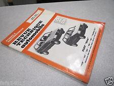 REVUE TECHNIQUE AUTOMOBILE DOCUMENTATION FIAT UNO MOTEURS ESSENCE POP 45 55 60 *