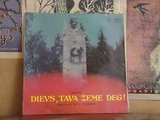 LUCIJA GARUTA, DIEVS TAVA ZEME DEG - USSR MELODYA LP C10 28031 002
