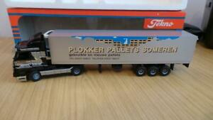 HB13: Early Tekno 1:50 Scale Scania 143m Plokker Truck - VGC / Boxed