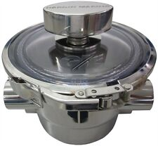 """Polished Offshore Sea Strainer - 1"""" NPT Dual Inlets/Outlets 420-913222"""