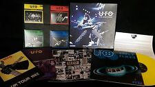 UFO - LIVE SIGHTINGS BOX SET 1 Yellow LP 4 CD's only you can Rock me Lights out