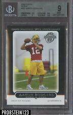 2005 Topps Black #431 Aaron Rodgers Green Bay Packers RC Rookie BGS 9 w/ 9.5