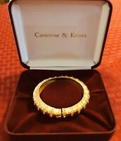 Makes A Great Gift! Vintage Camrose & Kross Jacqueline Kennedy Bracelet