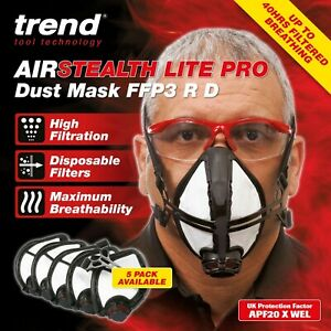 Premium Masks (5x Pack)  N 9 9 - F F P 3 (Sealed Package)