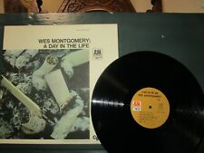 """Wes Montgomery """"A Day in the Life"""" A&M 3001 Vinyl Lp Ex+/N/M"""
