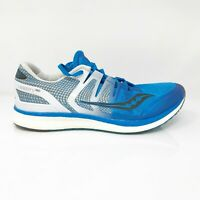 Saucony Mens Liberty ISO S20410-2 Blue White Black Running Shoes Size 10.5