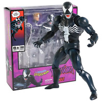 FIGURA VENOM MAFEX #088  & SPIDERMAN  #075 The Amazing Spiderman 18CM