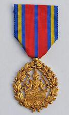 Cambodge: Médaille du Travail de 1ere classe, bronze doré