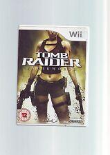 TOMB Raider Underworld-Lara Croft Wii Gioco/Wii-Veloce Post U-COMPLETO