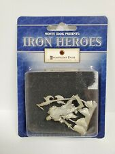 MAN AT ARMS Magnificent Egos Monte Cook Iron Heroes MEOIH03  NEW D&D