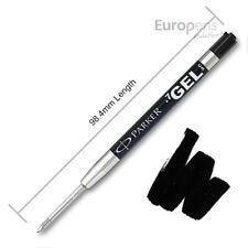 Parker Quink Gel Jotter Ballpoint Refill - BLACK - Discounted quantities