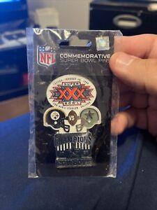 World Champion Cowboys Commemorative Super Bowl XXX Pin Awesome Design NFL New