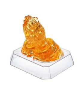 BePuzzled 3D Crystal Puzzle - Praying Hands - 42 Pcs - Free Shipping!