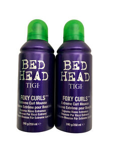 TIGI Bed Head Foxy Curls Mousee Set of 2 8.5 OZ Each