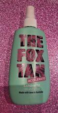 New THE FOX TAN ACCELERATE RAPID MIST 120ml vegan