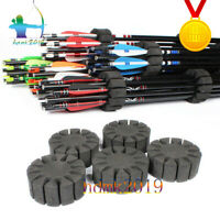 8PCS Archery Arrow EVA Foam Holder bolts Round Rack Arrow Separate Divide Arrows