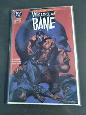 Batman: Vengeance of Bane Special #1 First Appearance Origin 1st 1993
